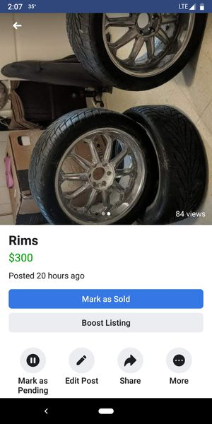 Pacer rims 22 in for Sale in Sioux City, IA