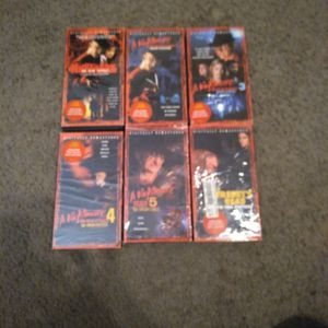 Freddy Movie Collection VHS for Sale in Modesto, CA