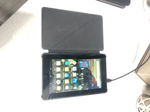 Amazon Fire (5th Generation) Tablet with case and charger for Sale in Cypress, TX