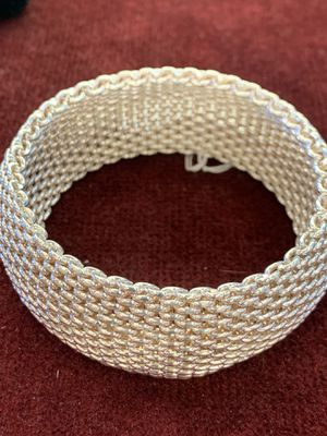 Tiffany & Co. Mesh Copa Bracelet 925 for Sale in Pflugerville, TX