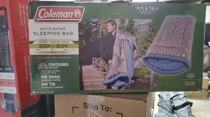 Coleman Whitewater sleeping bag for Sale in Riverside, CA