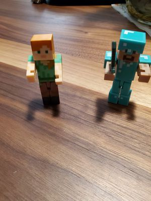 Mine craft figurines for Sale in Fontana, CA