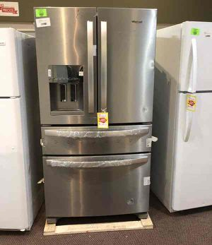 Whirlpool Refrigerator 🙈✔️⏰🍂🍂⚡️🔥😀🙈✔️⏰🍂⚡️🔥😀🙈✔️⏰🍂⚡️ Appliance Liquidation!!!!!!!!!!!!!!!!!!!!!!!!!! for Sale in Pflugerville, TX