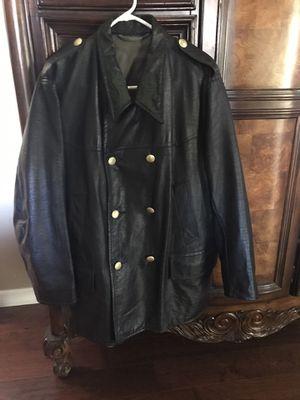 Leather Coat - Vintage for Sale in Fallbrook, CA