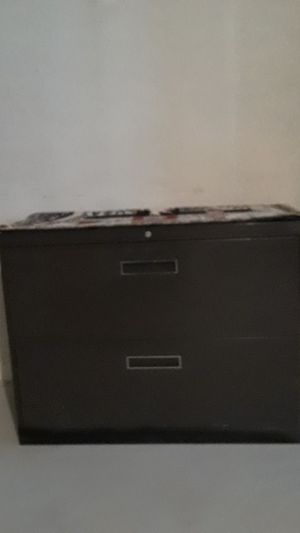 2 drawer wide cabinet for Sale in Sterling Heights, MI