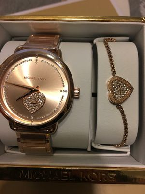 New Authentic Michael Kors Watch and Bracelet for Sale in Lakewood, CA