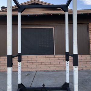 Olympic FULL POWER SQUAT RACK CAGE/Pull up bar for Sale in Glendale, AZ