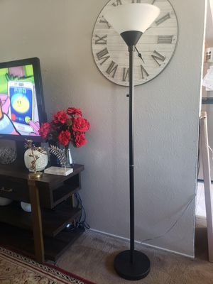 Torch Floor Lamp black for Sale in Euless, TX