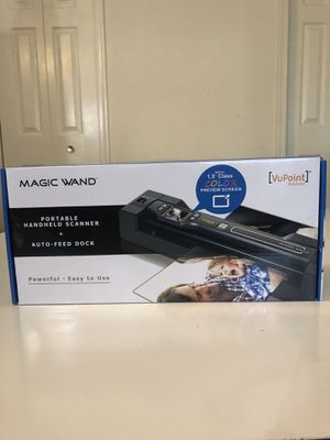 Magic Wand Portable Document Scanner for Sale in Boyds, MD
