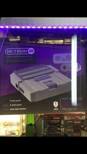 Retron 2 system 2 in 1 plays Nintendo and Super Nintendo games for Sale in Tampa, FL