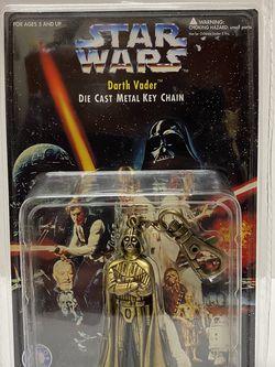 Star Wars Darth Vader Die Cast Metal Key Chain *Sealed* for Sale in Warrenville,  IL