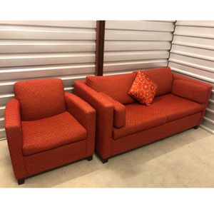 Sofa Bed and Chair Set (GREAT CONDITION) for Sale in Evanston, IL