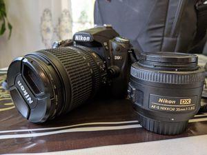 Nikon D90 + 2 lenses + case for Sale in Orlando, FL