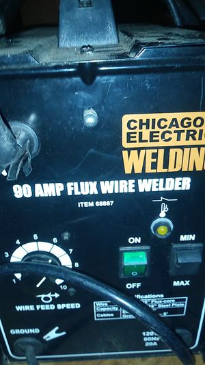 Chicago electric 90 AMP flux wire welder for Sale in Fort Worth, TX