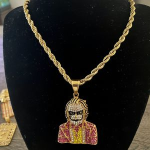 Joker Icedout Necklace for Sale in Fort Lauderdale, FL