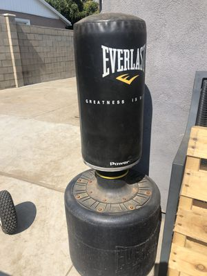 Punching bag and outside bar chairs for Sale in Duarte, CA