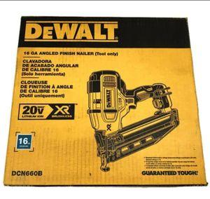 DeWalt DCN660B 16 GAUGE ANGLED FINISHING NAILER NEW for Sale in Saint Paul, MN