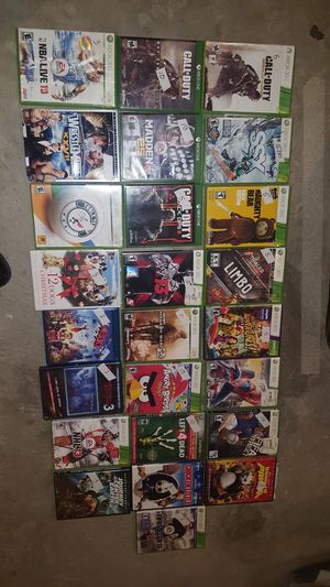Xbox 360 video games/ movie for Sale in Millersville, MD