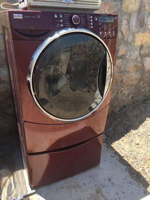 (NEEDS REPAIR) Kenmore Elite Quiet Pak 9 Washer for Sale in El Paso, TX
