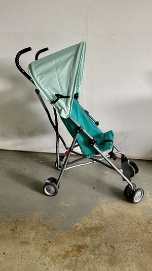 Umbrella Stroller with Canopy - Teal for Sale in Vienna, VA
