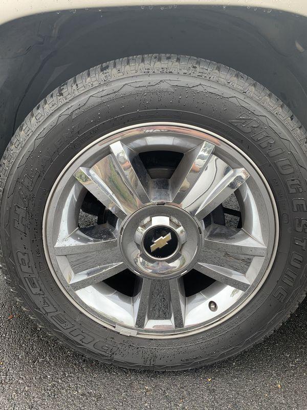 Chevy Chrome Rims & Tires