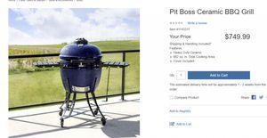 Pit Boss Ceramic BBQ Grill-Kamado for Sale in Encinitas, CA