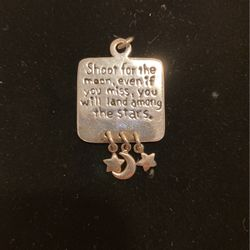 Vintage Sterling Pendant - Shoot For The Stars W/charms - Very Cute Item! #artssoflo for Sale in Miami,  FL