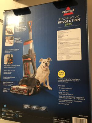 Bissell Carpet Cleaner (used twice) for Sale in Hawaiian Gardens, CA