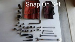 Snap On Tool Sets, Sockets, Wrenches, Herramientas for Sale in Patterson, CA