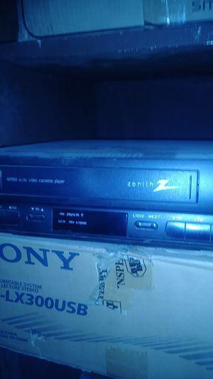 Zenith 12v VHS Player for Sale in Fresno, CA