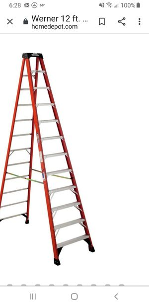 12 Foot Ladder for Sale in St. Peters, MO