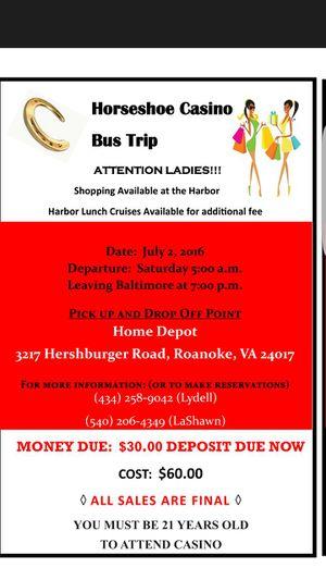 Bus trip for Sale in Roanoke, VA