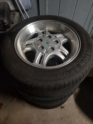 CHEVY S10 WHEELS for Sale in Fort Worth, TX