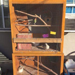 2 Piece Bird Cage for Sale in Pomona, CA