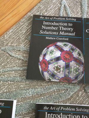 Math books in brand new condition for Sale in Fairfax, VA