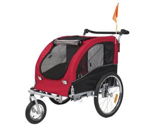 2 in 1 Pet Dog Bike Trailer Bicycle Stroller for Sale in Cincinnati, OH