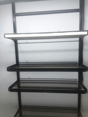 Heavy-duty metal rack with adjustable shelving for Sale in Villa Rica, GA