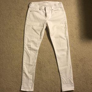 Banana Republic White Skinny Jeans for Sale in Redwood City, CA