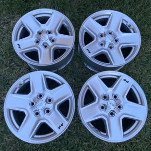 Jeep Wheels Rims Aros Rines Ruedas for Sale in Hialeah, FL