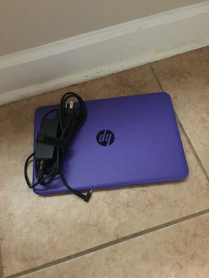 HP purple laptop for Sale in Greenville, SC