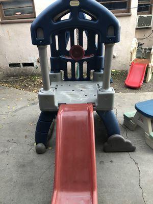 Swing set whit slide for Sale in San Bernardino, CA