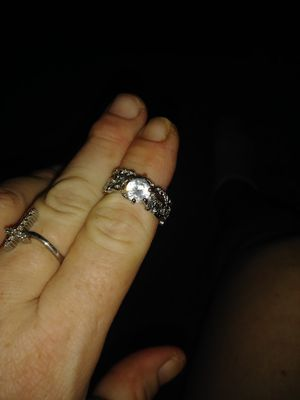 Sterling silver wedding set size 8 for Sale in Hilliard, OH