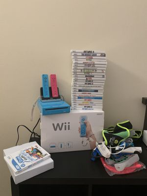 Wii and games for Sale in Port St. Lucie, FL