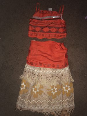Moana outfit for Sale in Palmdale, CA