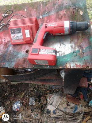 Used Milwaukee drill driver and charger for Sale in Dade City, FL