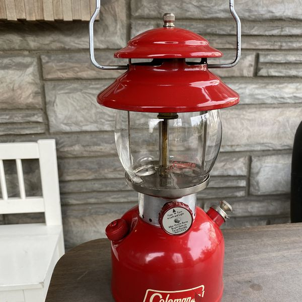 Coleman Vintage Lantern Camping Gear Flashlight Torch