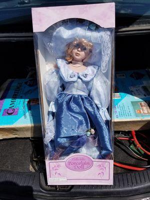 Vintage Porcelain Doll NIB for Sale in Durham, NC