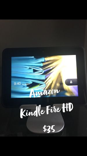 Amazon Kindle Fire HD - ONLY $25!!! for Sale in Jacksonville, FL