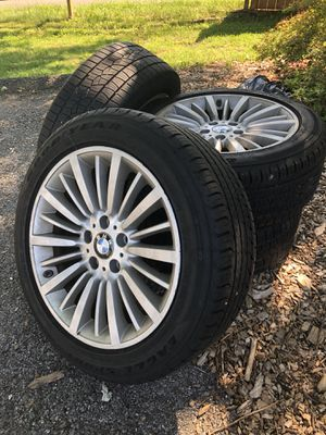 BMW Rims & Tires with TPS for Sale in Rockville, MD