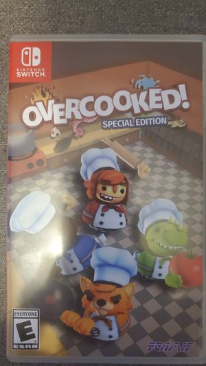 Nintendo Switch Overcooked for Sale in Santa Ana, CA
